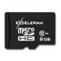 Exceleram 8 GB microSDHC class 10 MSD0810