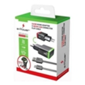 e-Power Сетевое зарядное устройство кабель MicroUSB + 2 USB 2.1 A (EP702HAS)