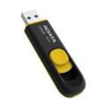 A-data 64 GB DashDrive UV128 Black/Yellow (AUV128-64G-RBY)