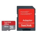 SanDisk 32 GB microSDHC Mobile Ultra + SD adapter (SDSDQUA-032G-U46A)