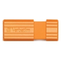 Verbatim 16 GB Store 'n' Go PinStripe Orange 49069