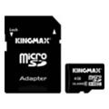 Kingmax 4 GB microSDHC Class 4 + SD Adapter KM04GMCSDHC41A