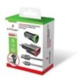 e-Power Универсальный зарядный комплект 3 в 1 + кабель MicroUSB 2 USB 2.1 A (EP802CHS)