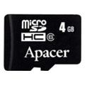 Apacer 4 GB microSDHC Class 4 AP4GMCSH4-RA