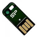 Silicon Power 4 GB Touch T02 Green SP004GBUF2T02V1N