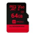 GoodRAM 64 GB microSDXC UHS-II U3 IRDM + SD adapter IR-M6BA-0640R11