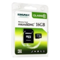 Kingmax 16 GB microSDHC Class 10 + SD Adapter KM16GMCSDHC101A