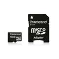 Transcend 16 GB microSDHC class 2 + SD Adapter