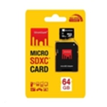 Strontium 64 GB microSDXC Class 10 UHS-I + SD adapter SR64GTFC10A