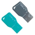 PNY 4 GB Key Attache Twin Pack (FDU4GBKEYCOLX2-EF)