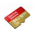 SanDisk 64 GB microSDXC UHS-I U3 Extreme + SD adapter SDSQXVF-064G-GN6MA