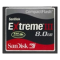 SanDisk Compact Flash Extreme III 8Gb