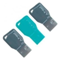 PNY 4 GB Key Attache Triple Pack (FDU4GBKEYCOLX3-EF)