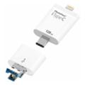 PhotoFast 128 GB i-FlashDrive iTypeC 4-in-1 White (TypeC128GB)