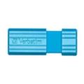 Verbatim 8 GB Store 'n' Go PinStripe 47398 Blue