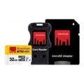 Strontium 32 GB microSDHC Class 10 USH-I Nitro 3в1 SRN32GTFU1C