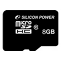 Silicon Power 8 GB microSDHC Class 10