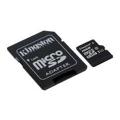 Kingston 16 GB microSDHC Class 10 UHS-I + SD Adapter SDC10G2/16GB