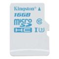 Kingston 16 GB microSDHC class 10 UHS-I U3 SDCAC/16GBSP