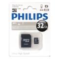 Philips 32 GB microSDHC class 10 + SD Adapter FM32MA45B/97