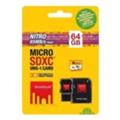 Strontium 64 GB microSDXC Class 10 USH-I Nitro 3в1 SRN64GTFU1C