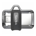 SanDisk 16 GB USB Ultra Dual OTG USB 3.0 Black (SDDD3-016G-G46)
