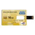GOODDRIVE 16 GB Gold Credit Card