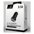 Fonemax X-Power DualUSB Car Charger Black (FM-XPC-F18BK)