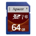 Apacer 64 GB SDXC Class 10 UHS-I AP64GSDXC10U2-R