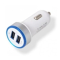 Drobak Автомобильное зарядное устройство Power Dual USB White (905310)