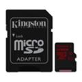Kingston 128 GB microSDXC class 10 UHS-I U3 + SD Adapter SDCA3/128GB