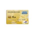 GoodRAM 4 GB Gold Credit Card