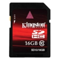 Kingston 16 GB SDHC Class 10