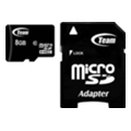 TEAM 8 GB microSDHC Class 10 + SD Adapter TUSDH8GCL1003