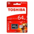 Toshiba 64 GB microSDXC Class 10 UHS-I U3 Exceria Pro + SD adapter THN-M401S0640E2