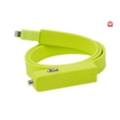 TYLT Band Car Charger LIGHTNING+USB, GREEN (2.1А, 0.6 m) (IP5-BANDG-T)