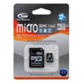 TEAM 32 GB microSDHC Class 4 + SD Adapter TUSDH32GCL403