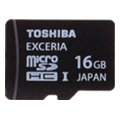 Toshiba 16 GB EXCERIA Type HD microSDHC UHS-I SD-CX16HD