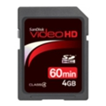 SanDisk SDHC Video HD 4Gb