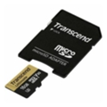 Transcend 16 GB microSDHC UHS-I U3 Ultimate + SD Adapter TS16GUSDU3M