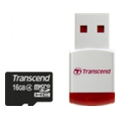 Transcend 16 GB microSDHC class 4 + P3 Card Reader TS16GUSDHC4-P3