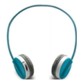 Rapoo Wireless Stereo Headset H6020 Blue