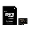 Apacer 128 GB microSDXC Class 10 UHS-I + SD adapter AP128GMCSX10U1-R
