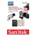 SanDisk 32 GB microSDHC High Endurance Video Monitoring Class 10 + SD adapter SDSDQQ-032G-G46A