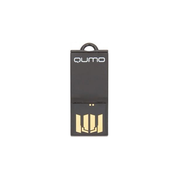 Qumo 8 GB Sticker Black (QM8GUD-STR-Black)