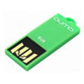 Qumo 8 GB Sticker Green (QM8GUD-STR-Green)