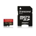 Transcend 16 GB microSDHC class 10 UHS-I Ultimate + SD Adapter TS16GUSDHC10U1