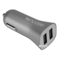 Incase High Speed Dual Car Charger Metallic Gray (CL90037)