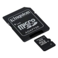 Kingston 4 GB microSDHC class 10 + SD Adapter