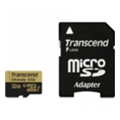 Transcend 32 GB microSDHC UHS-I U3 Ultimate + SD Adapter TS32GUSDU3